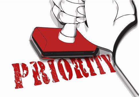 Timbre, Priorité, Préférence, Spécial