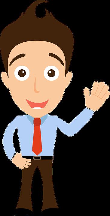 Comic Figuren Hallo Mann Kostenlose Vektorgrafik Auf Pixabay