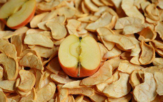 Apple, Dried Apples, Dried Fruit, Dried