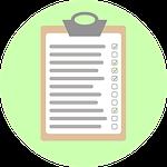 checklist, analysis, check off