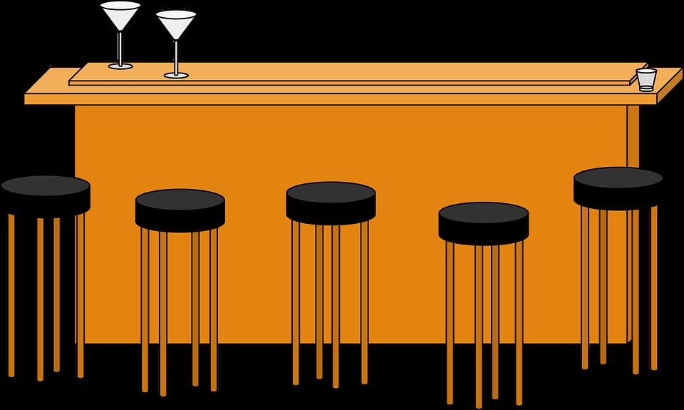 Free Vector Graphic Alcohol Bar Barstool Bar Stool