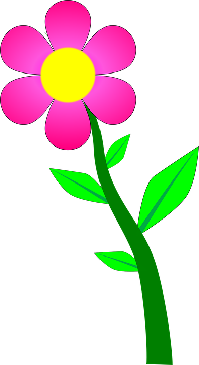 Flower plant blossom free vector graphic on pixabay flower plant blossom pink cartoon mightylinksfo