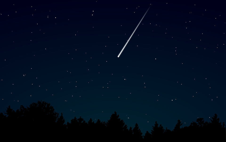 Dark, Darkness, Meteor, Night, Shooting Star, Sky, Star