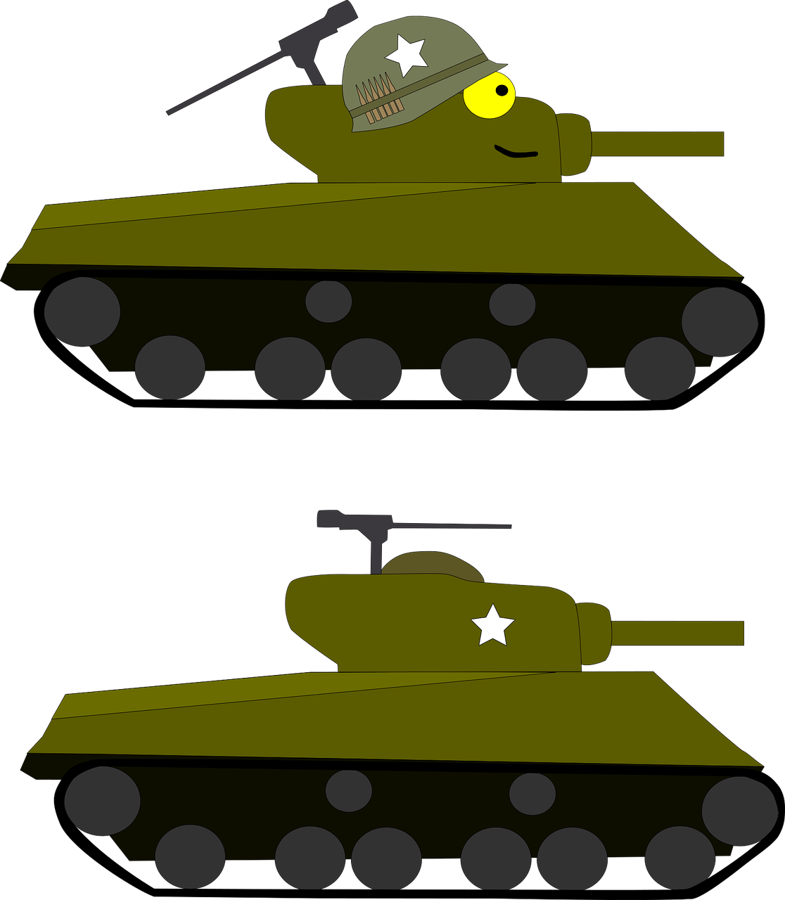 Army tank cartoon images