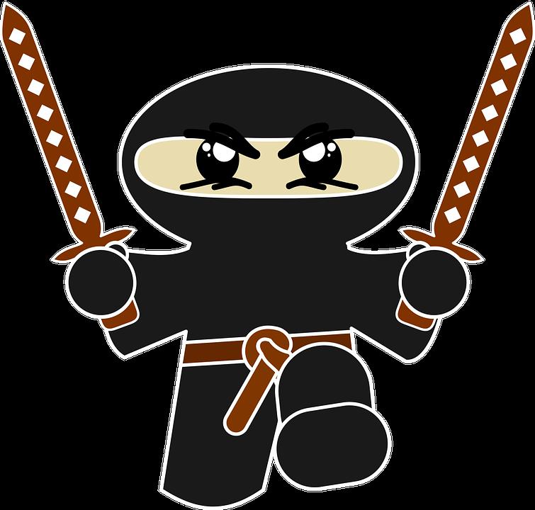 Free vector graphic: Ninja, Comic, Character, Funny - Free Image ...