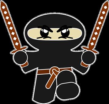 Unduh 950  Gambar Animasi Ninja  Free