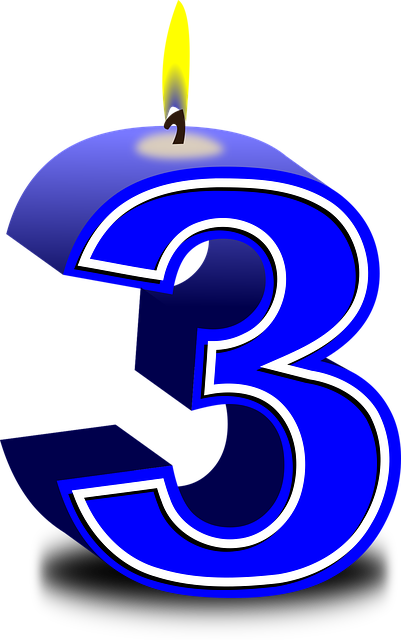Numbers 3 Three  U00b7 Free Vector Graphic On Pixabay