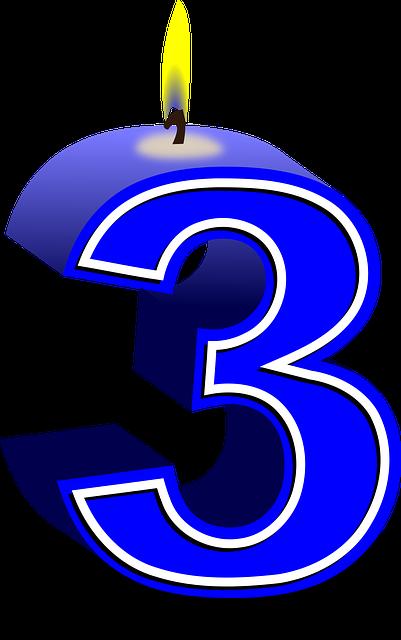 Diagram Numbers 3 Three U00b7 Free Vector Graphic On Pixabay