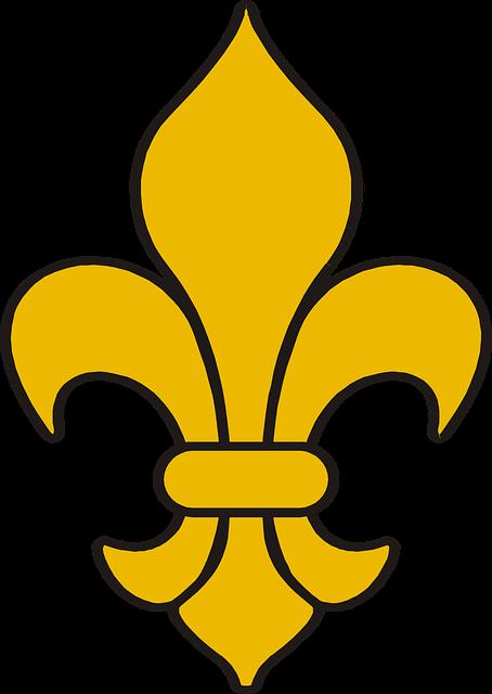 Free vector graphic fleur de lis decoration symbol free image on pixabay 2024559 - Fleur de lys symbole ...