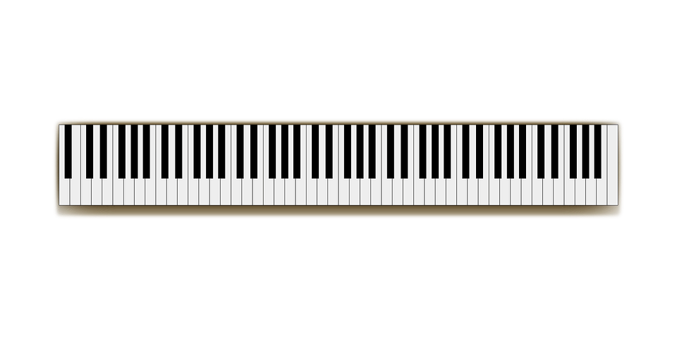 Full Size Keyboard Music Free Vector Graphic On Pixabay