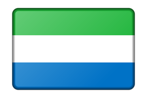 Banner, Decoration, Flag, Sierra Leone