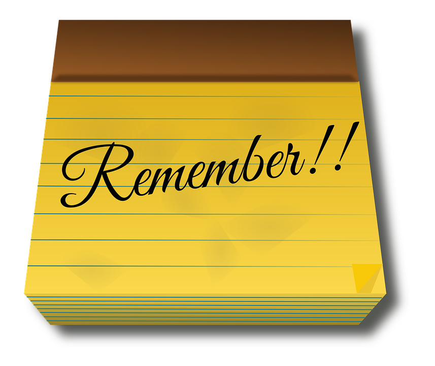 Note, Notepad, Pad, Paper, Remember, Reminder, Text