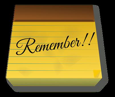 メモ, メモ帳, パッド, 紙, 覚えています, アラーム, テキスト, タイプ
