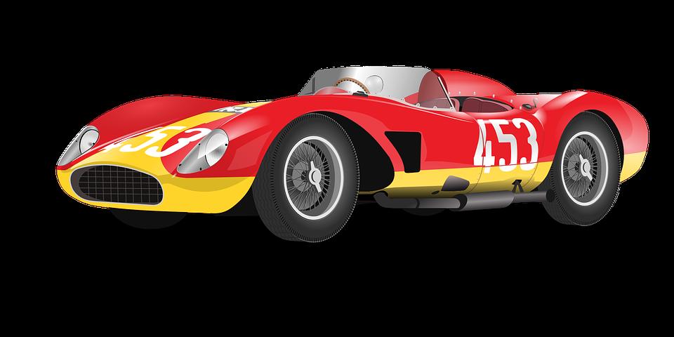 Mobil Balap Merah Gambar Vektor Gratis Di Pixabay