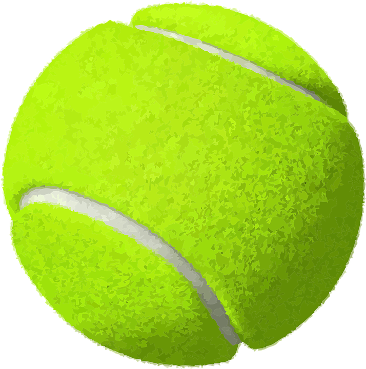 Free vector graphic: Tennis, Ball, Yellow, Sport, Game ...