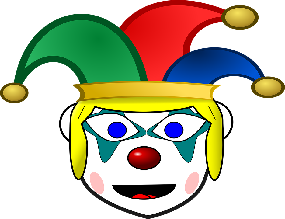 clown comic characters funny free vector graphic on pixabay