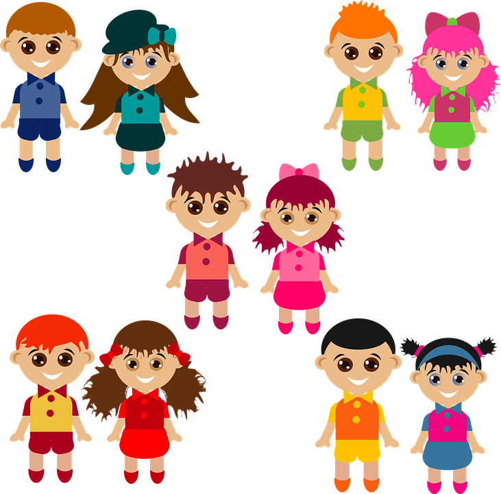 boys characters girls free vector graphic on pixabay