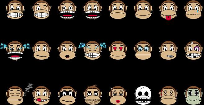 kleurplaten nl kleurplaat aap hoofd