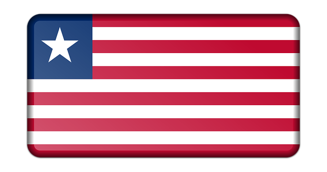 Banner, Decoration, Flag, Liberia, Sign