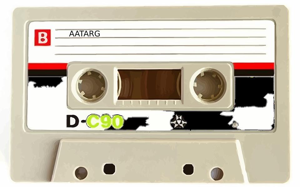 Cassette, Tape, Recorder, Vintage, Old, Music, Audio