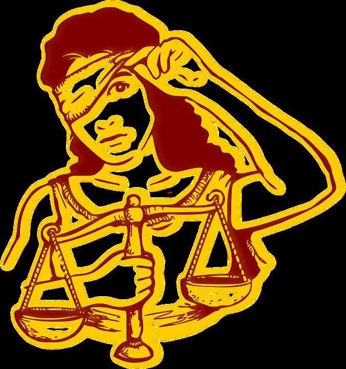 Les Yeux Bandés, Injustice, La Justice, Dame