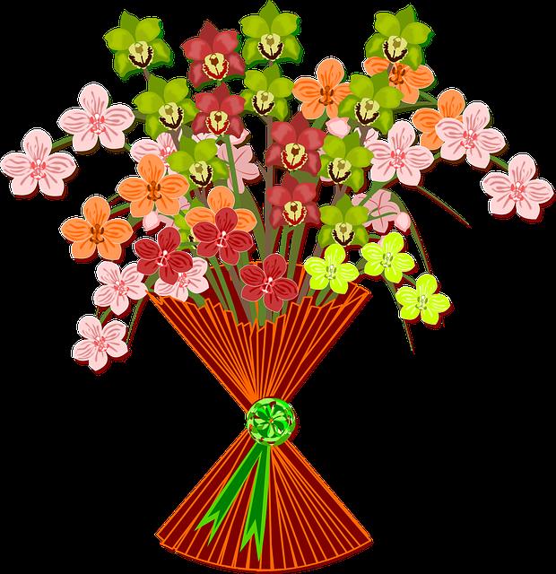 Bouquet Clip Art Flor · Free vector graphic on Pixabay