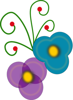 Summer Flower Vector Graphics Pixabay Download Free Images