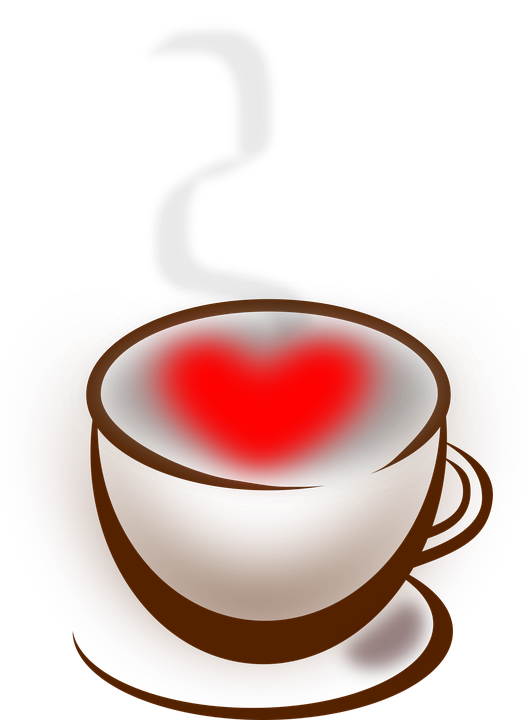free vector graphic coffee  heart  love  stuff free gift vector icon gift vector image
