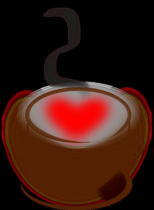 Free Vector Graphic Coffee Heart Love Stuff Free