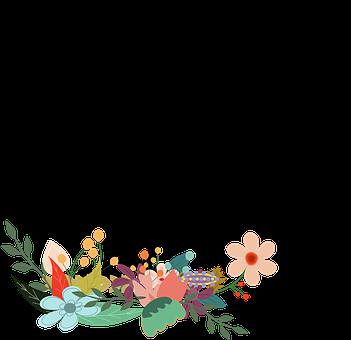 Djur, Fågel, Kråka, Blommig, Blommor