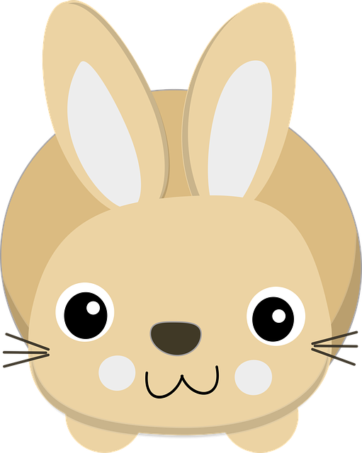 bunny cartoon free vector graphic on pixabay