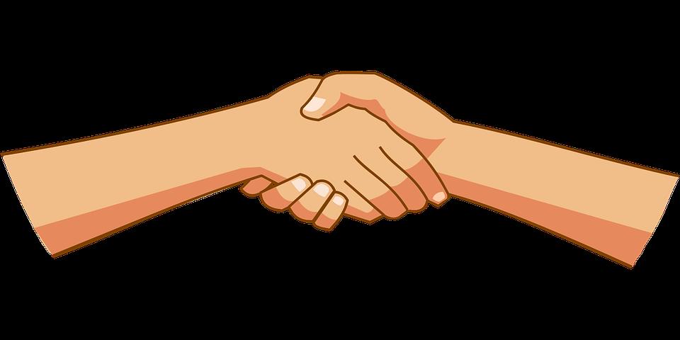 Картинка для анимации две руки