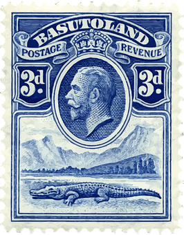 Basutoland Lesotho Post Postage Stamp Leso