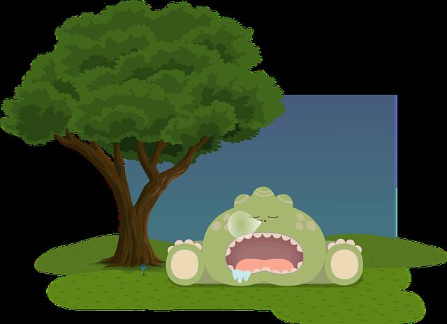 Free Vector Graphic Background Calm Cute Dinosaur