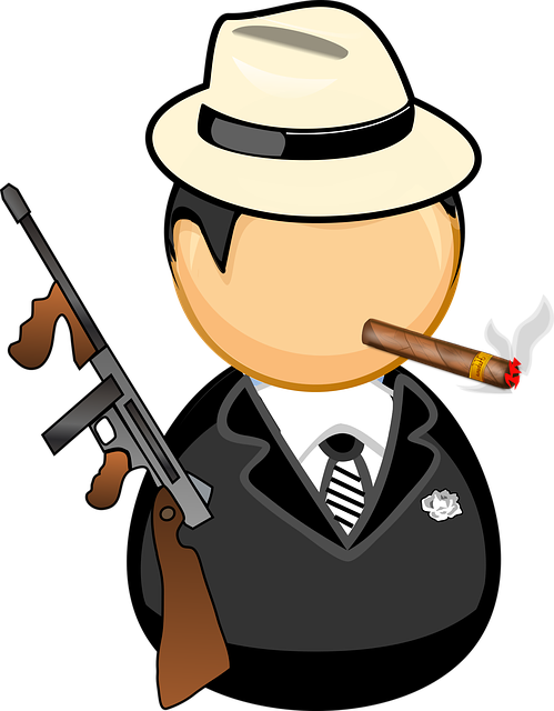 Chicago Cigar Comic Characters 183 Free Vector Graphic On