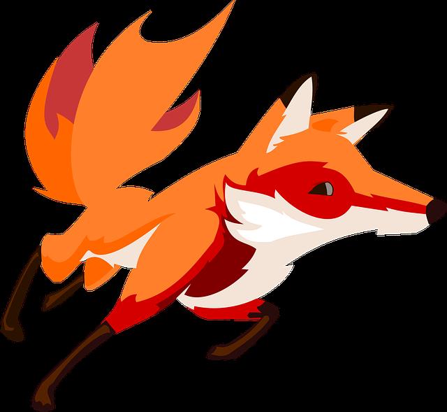 animal cartoon fox 183 free vector graphic on pixabay