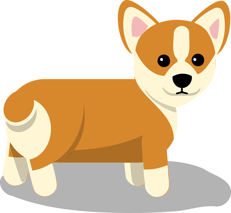 corgi dog free vector graphic on pixabay rh pixabay com free vector art dog paw print free dog vector images