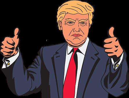 Cartoon, Celebrity, Comic, Donald Trump