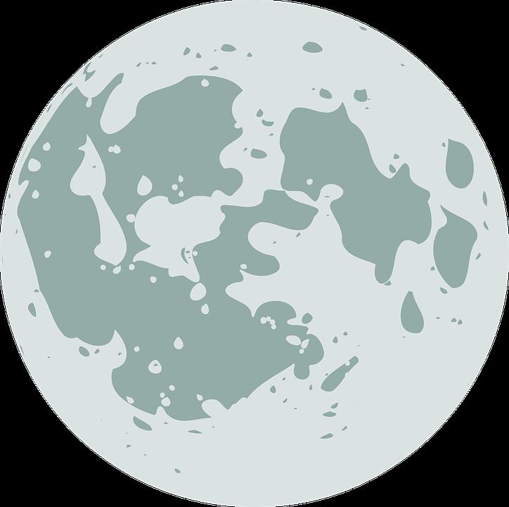 Desenhos Animados Lua Grafico Vetorial Gratis No Pixabay