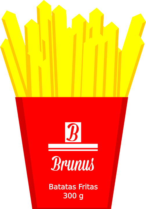 Wood Chips Clip Art ~ French fries ketchup potato · free vector graphic on pixabay