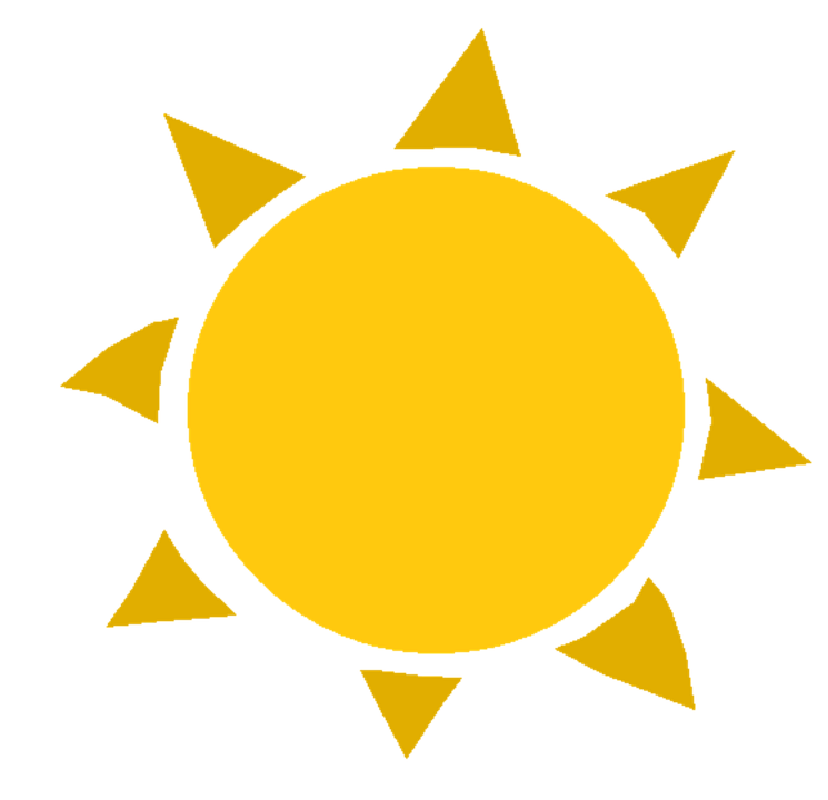 sun summer heat free vector graphic on pixabay rh pixabay com Sun Ray Clip Art Vector Graphics sun vector graphic free