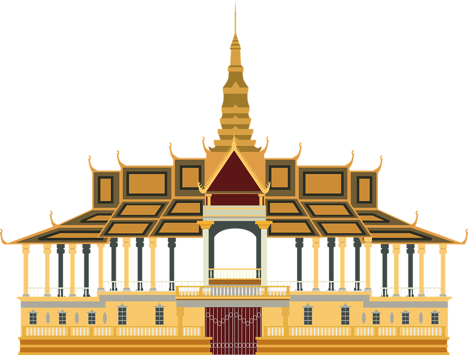 asia cambodia king free vector graphic on pixabay. Black Bedroom Furniture Sets. Home Design Ideas