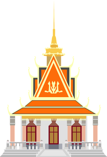 Asia Building Cambodia 183 Free Vector Graphic On Pixabay