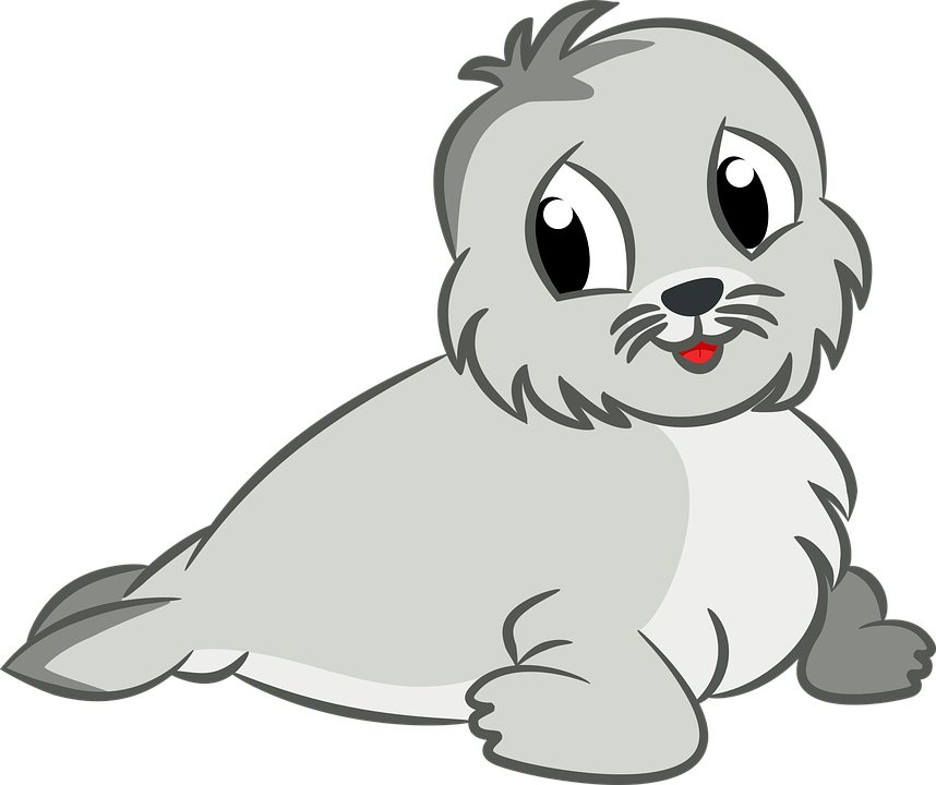 Animal baby cartoon free vector graphic on pixabay animal baby cartoon cute sea seal voltagebd Image collections