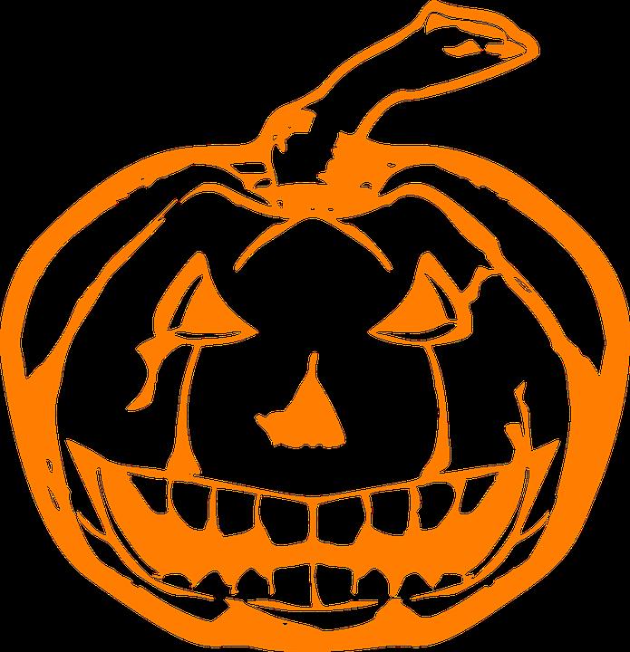 Böse Halloween Kürbis · Kostenlose Vektorgrafik auf Pixabay