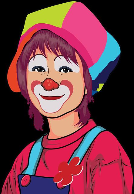 free vector graphic  cartoon  clown  comic - free image on pixabay