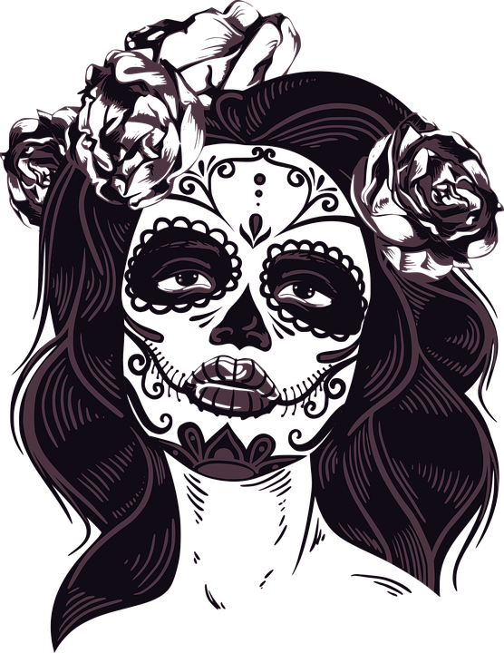 Mask Horror Women 183 Free Vector Graphic On Pixabay