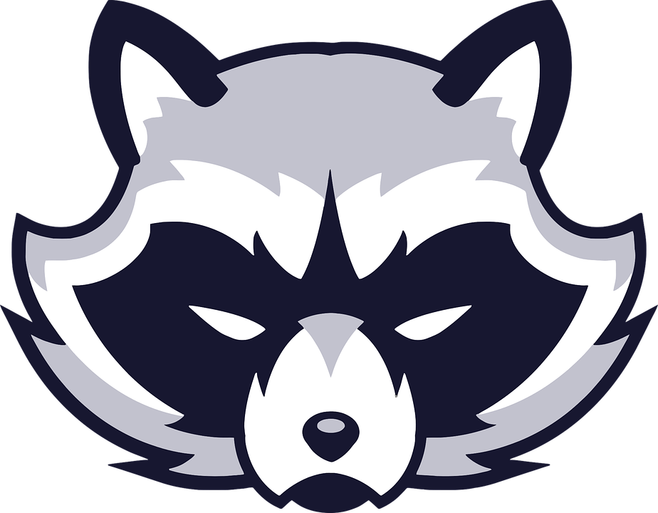 Free vector graphic: Animal, Face, Logo, Raccoon - Free Image on ...