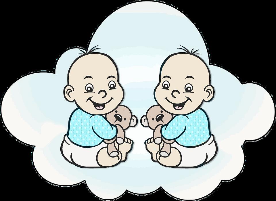 Картинки близнецов мальчиков нарисованные, смешные