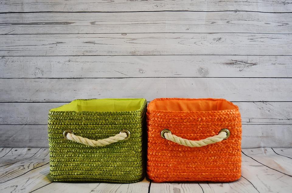 DIY织物储物篮|可爱的缝纫项目,改变你的卧室